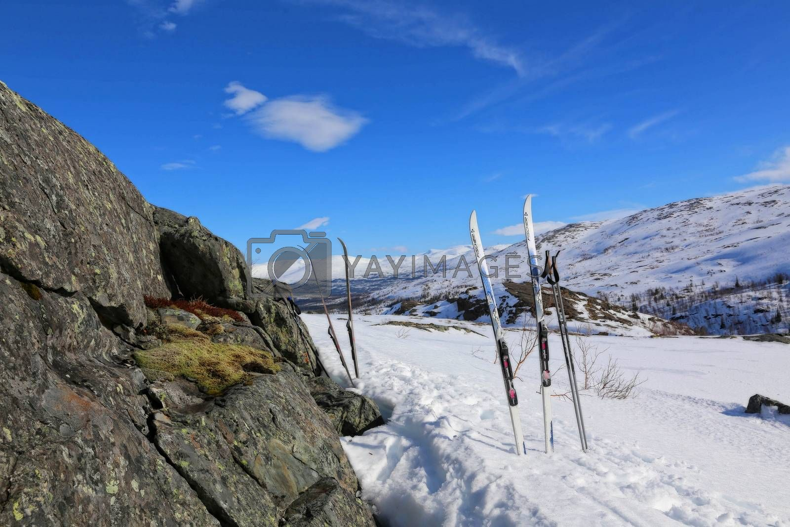 Royalty free image of Påskefjellet 2016 by post@bronn.no