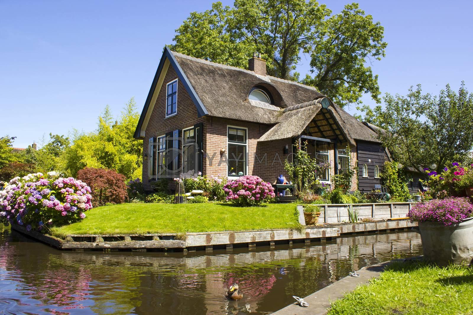 Royalty free image of GIETHOORN, NETHERLANDS by miradrozdowski