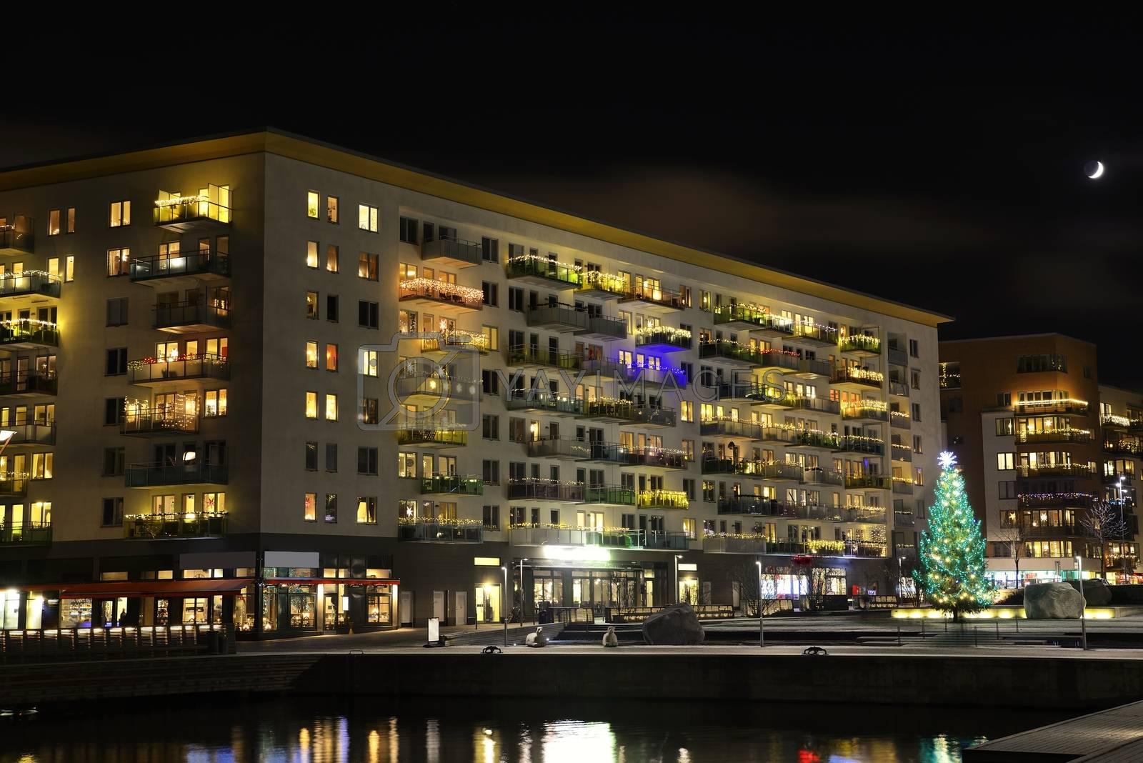 Stockholm embankment - Liljeholmen
