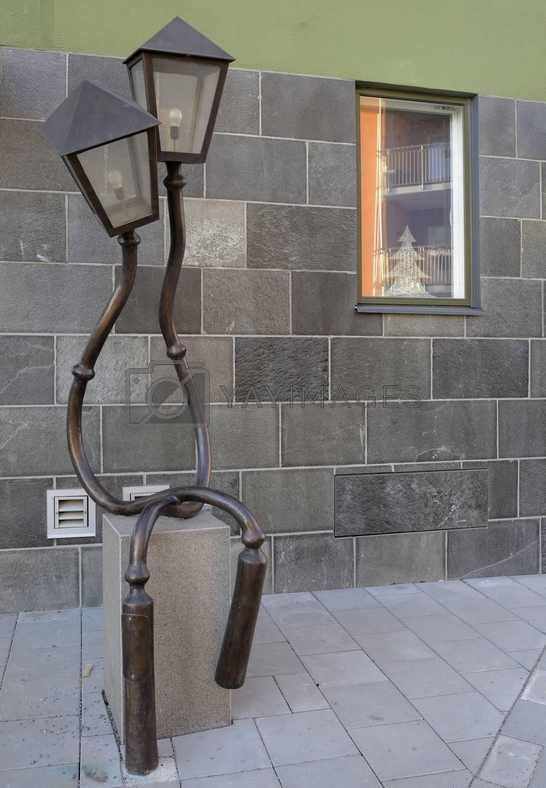 Vintage Street Lamp - Stockholm