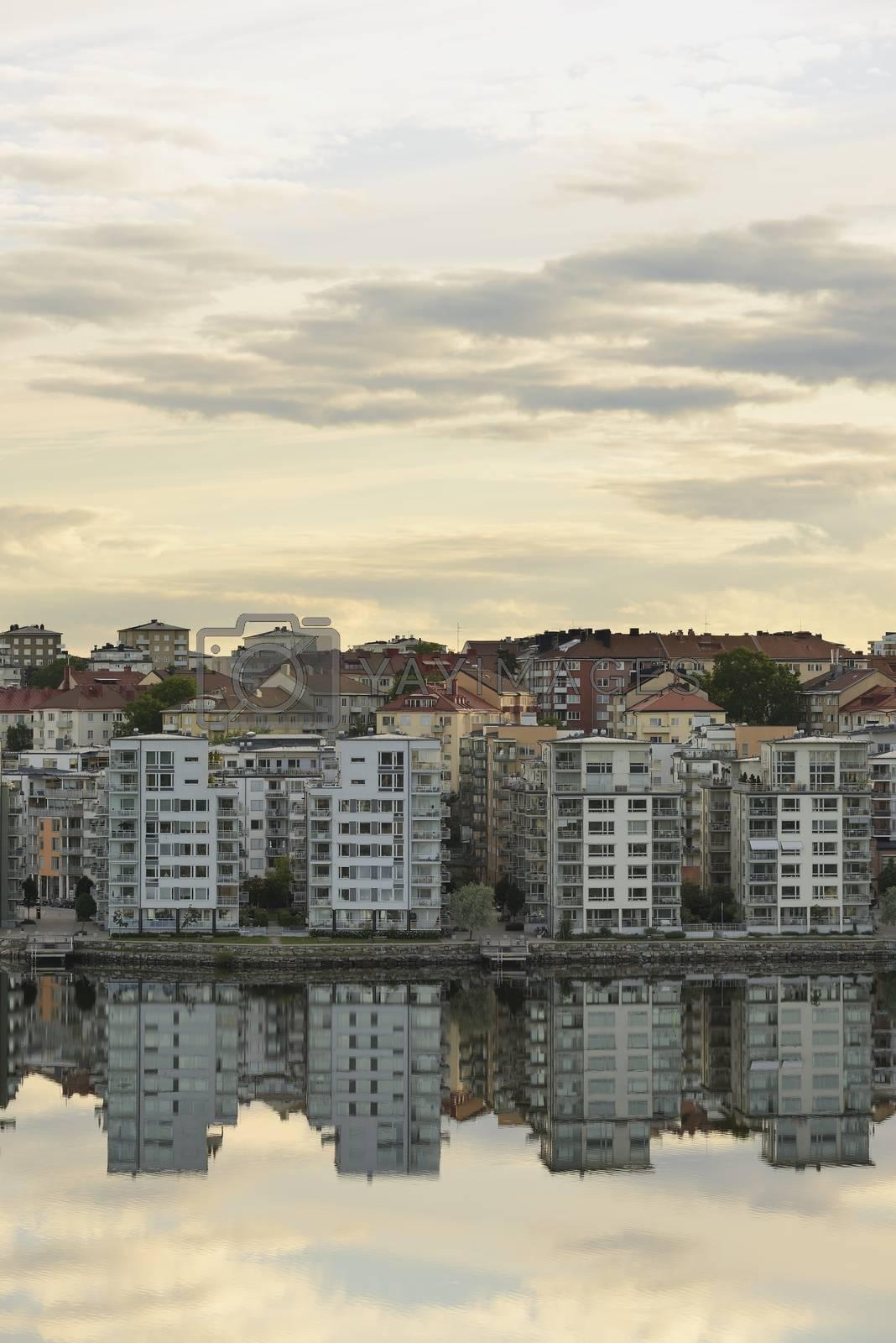 Stockholm embankment
