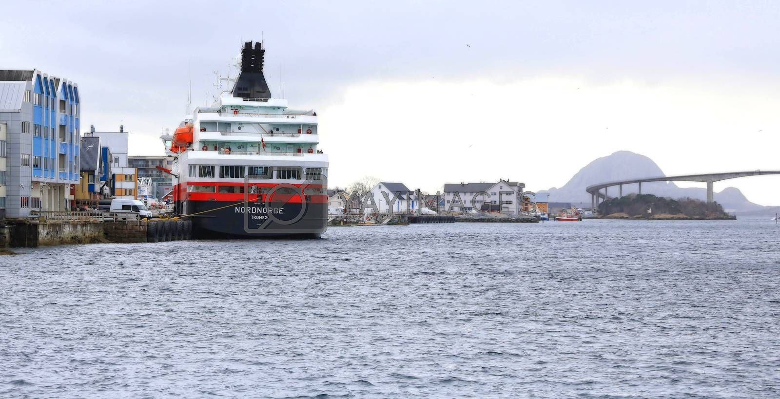 Royalty free image of M.s Nordnorge by post@bronn.no