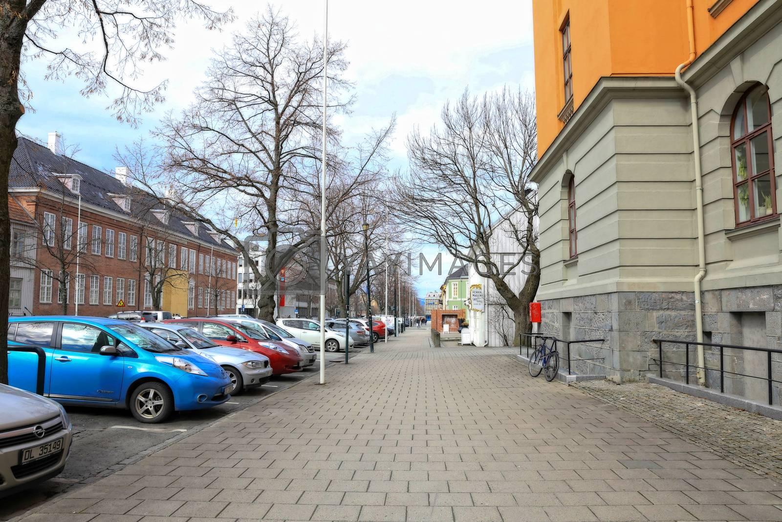 Rundtur i Trondheim en vårdag
