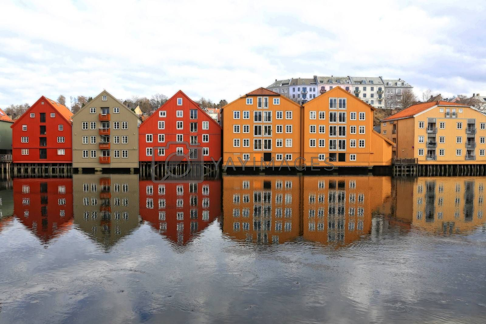 Rundtur i Trondheim en vårdag - Ved Nidelven