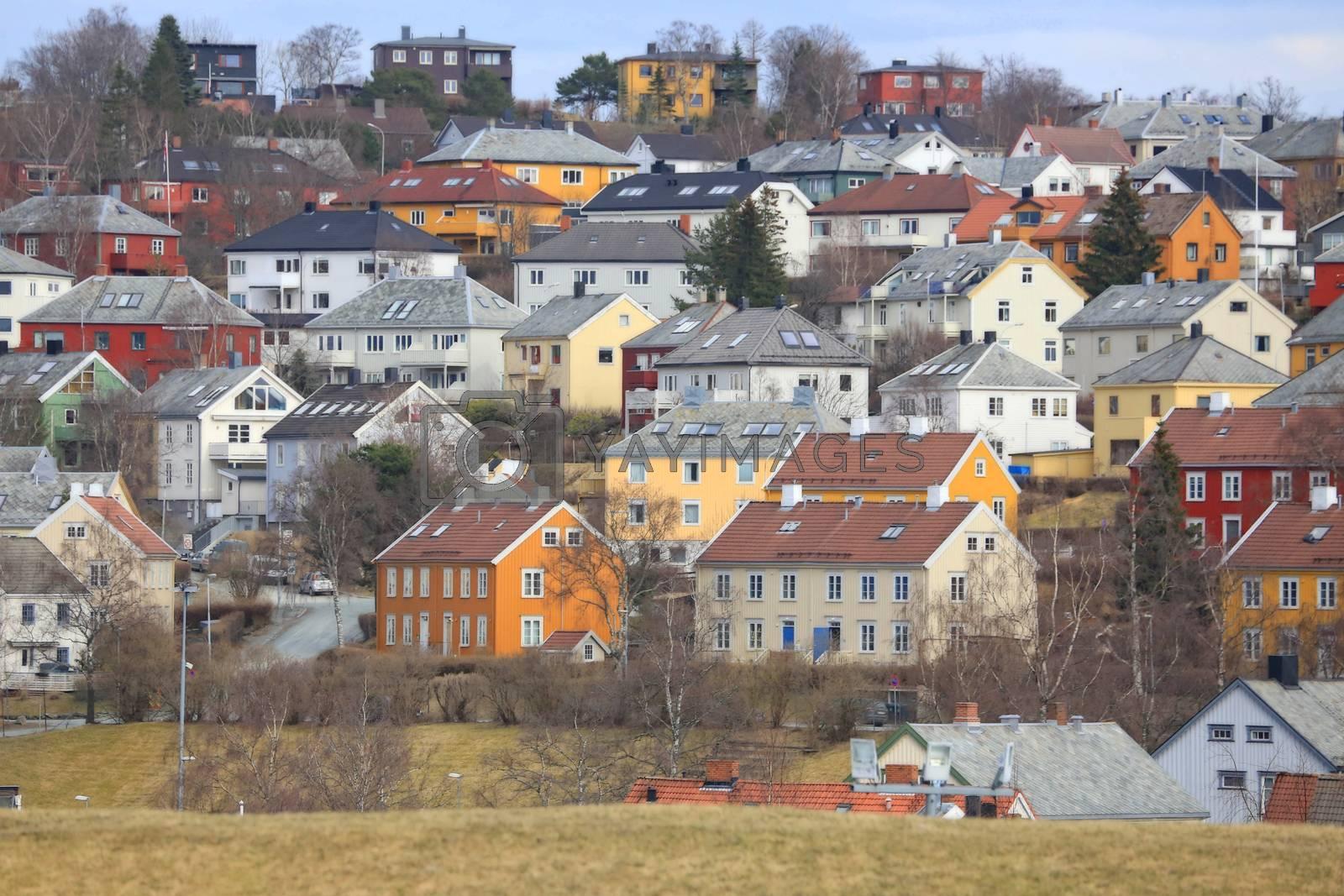 Rundtur i Trondheim en vårdag - Utsikt fra Kristiansten festning