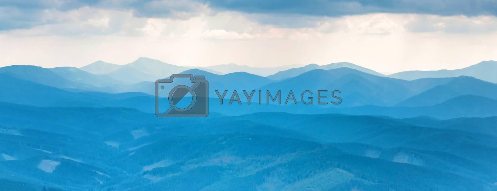 Blue mountains by vapi