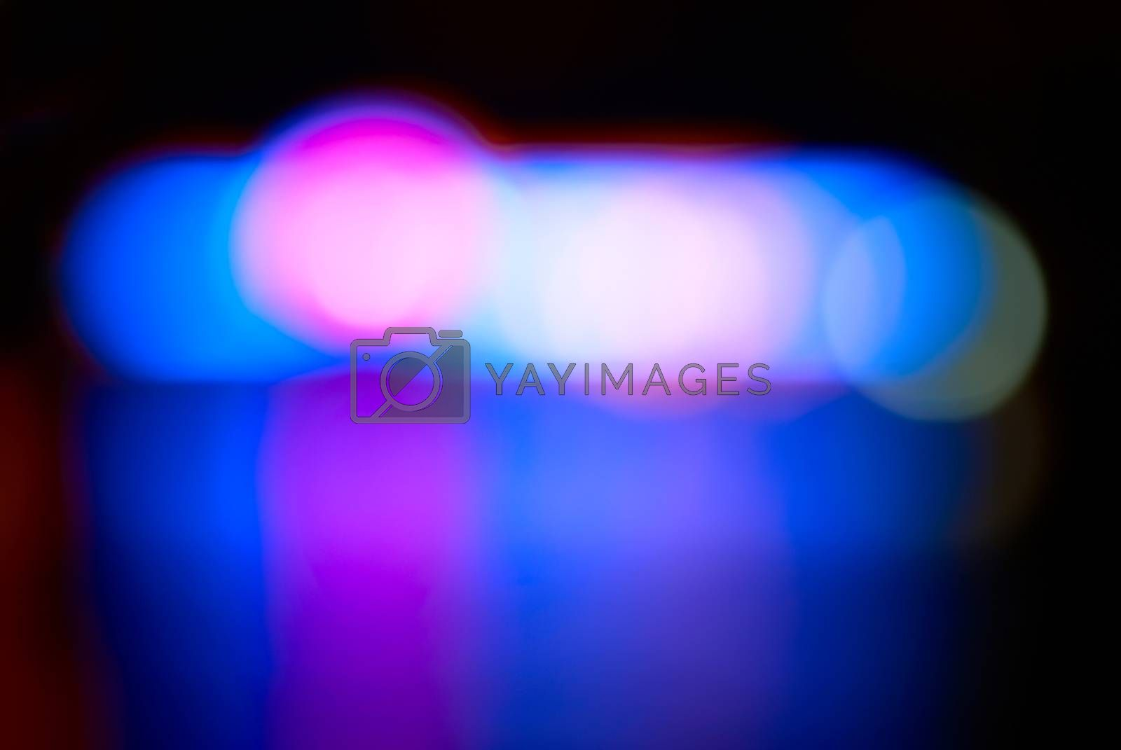 Blur abstract blue holiday lights can be used for background