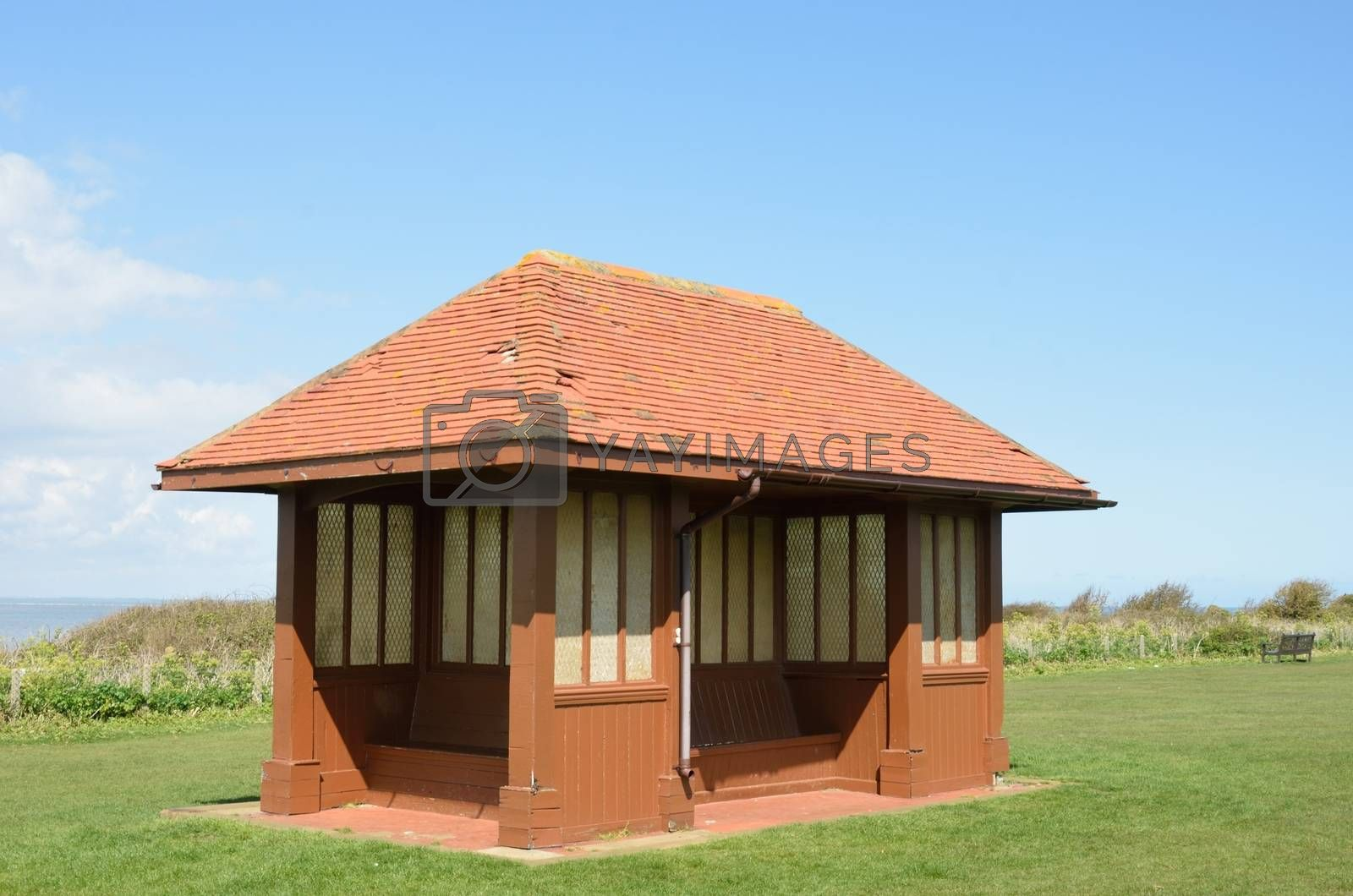 Seaside Shelter in England