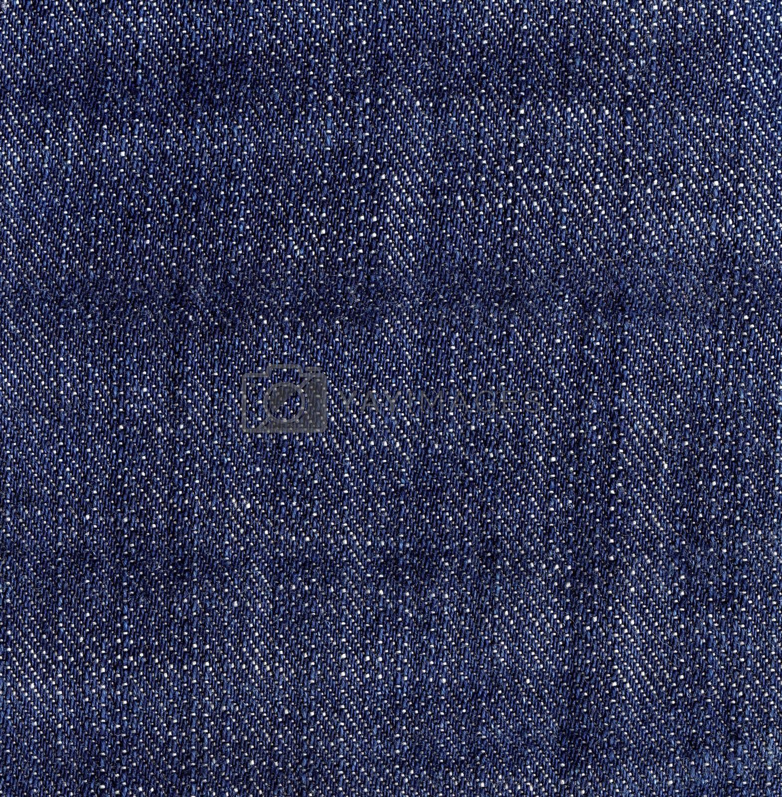 Dark Blue Jeans Denim Texture.