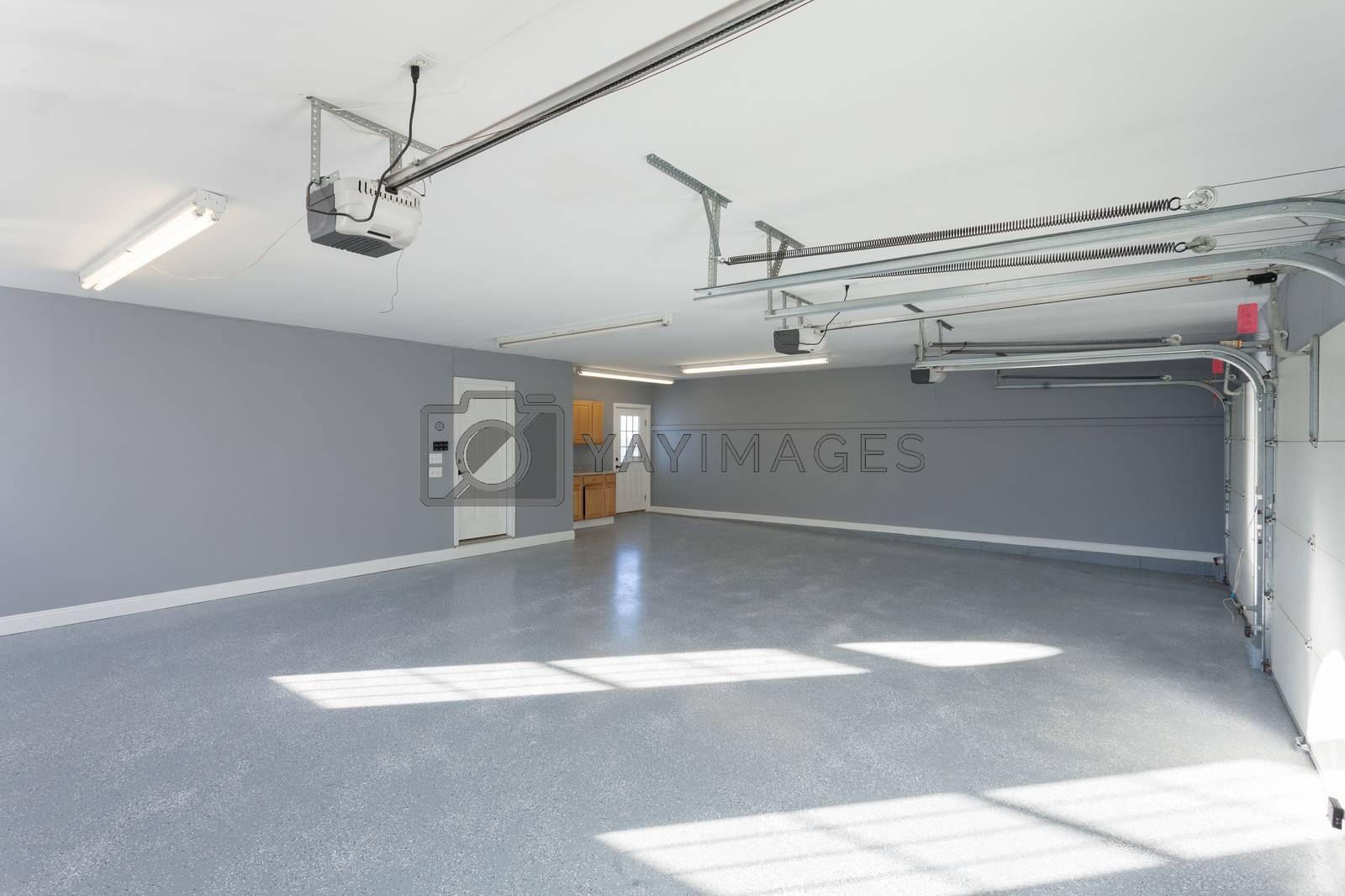 Home Garage Interior by graficallyminded