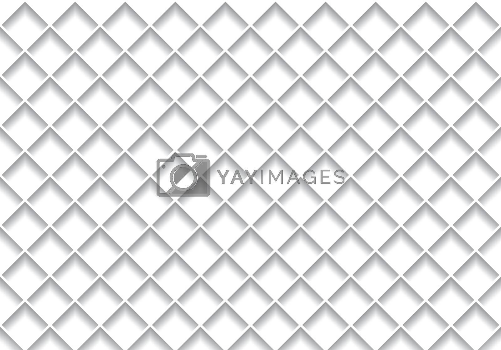 White Grid Texture - Background Illustration, Vector