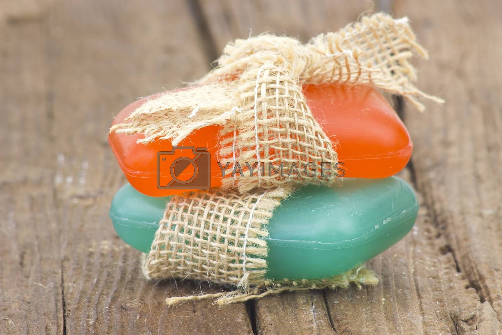 two bars of glycerine soap - body care