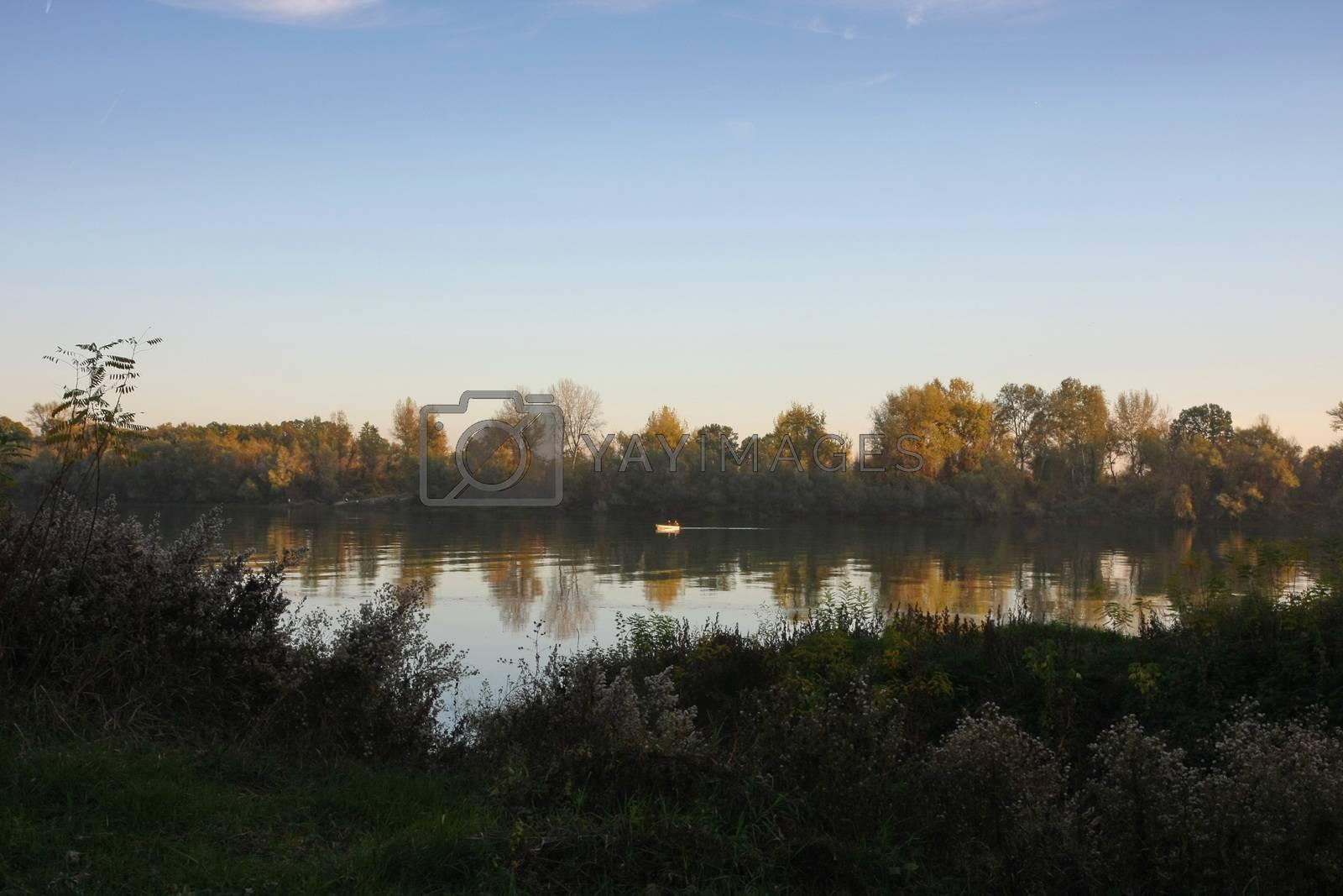 Nature around river by tdjoric