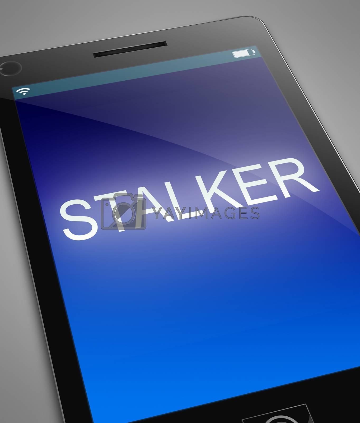 Phone stalker concept. by 72soul
