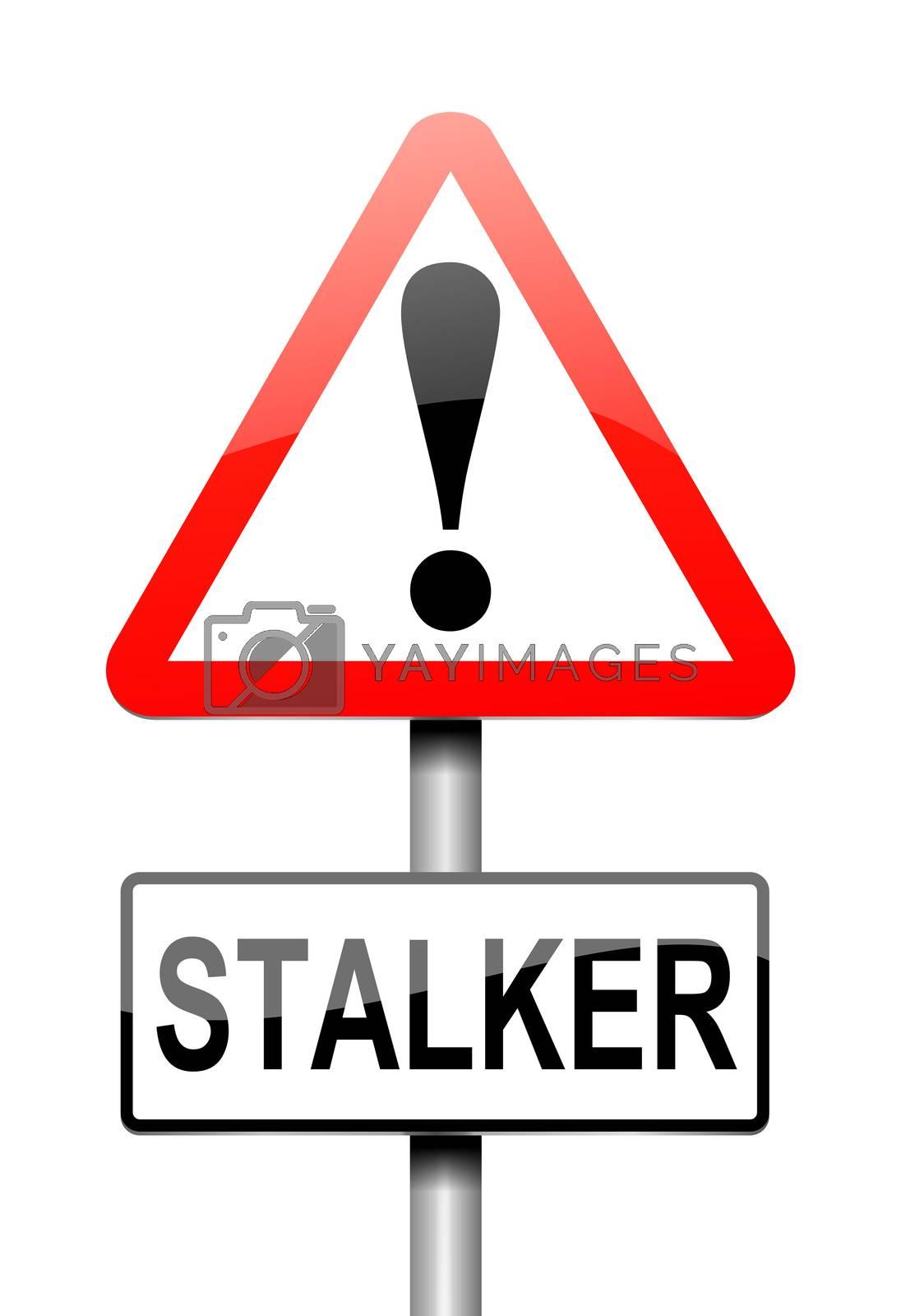 Stalker warning concept. by 72soul
