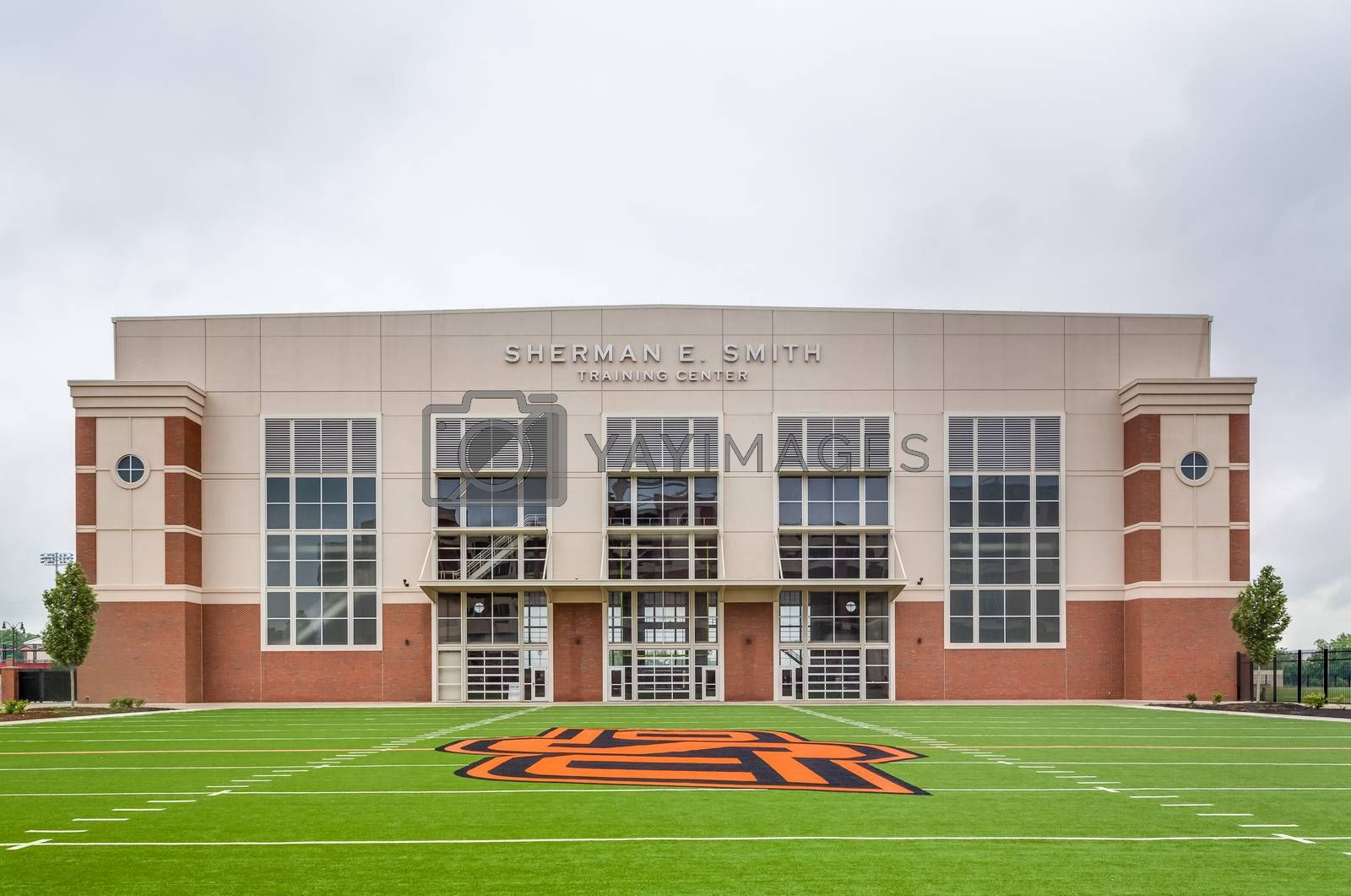 STILLWATER, OK/USA - MAY 20, 2016: Sherman E. Smith Training Center on the campus of Oklahoma State University.
