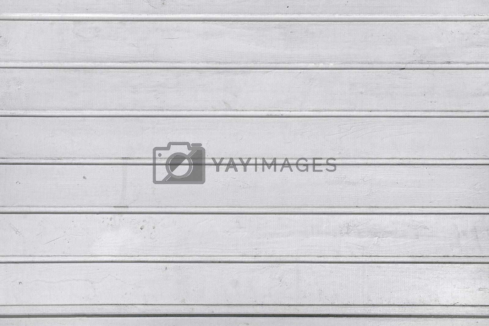 Royalty free image of White wood planks texture by stevanovicigor