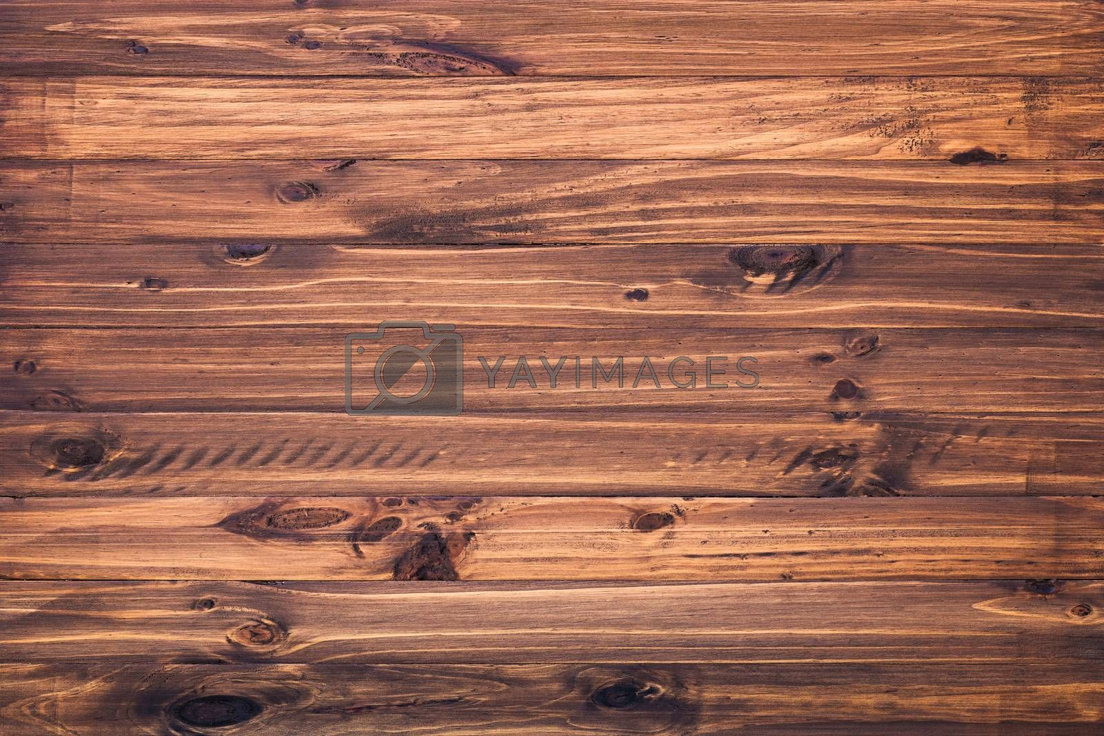 The surface of wood painted oak.