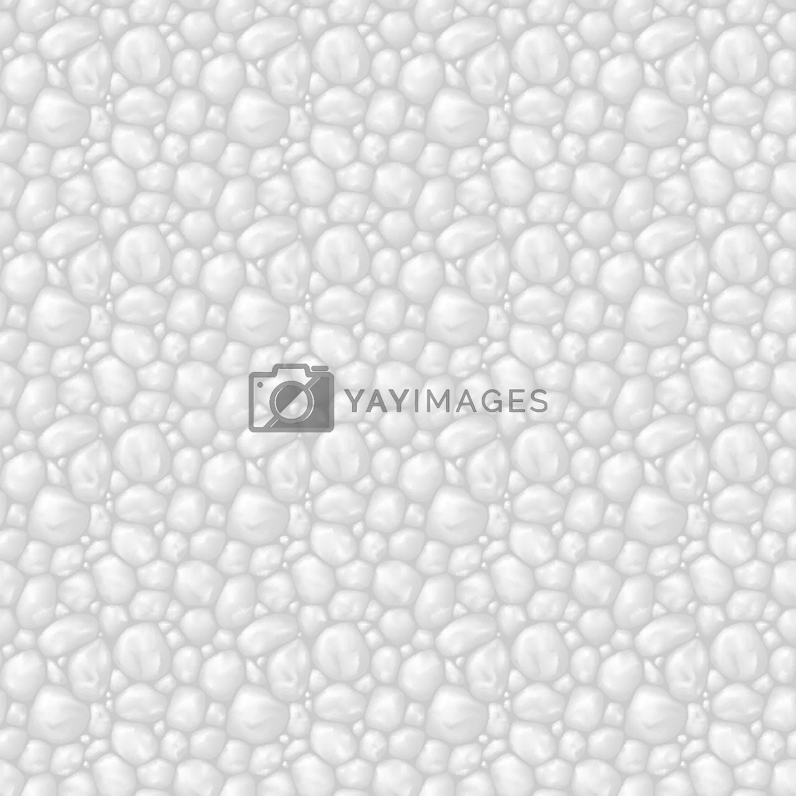 Seamless texture gray stone for game user interface or other design idea
