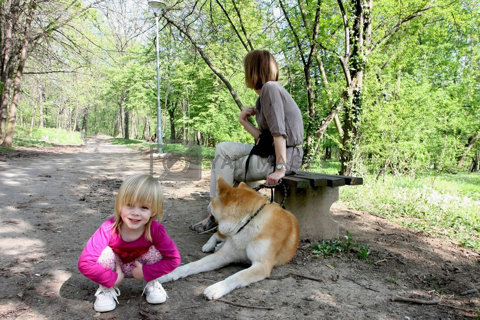 Enjoying in public park by tdjoric