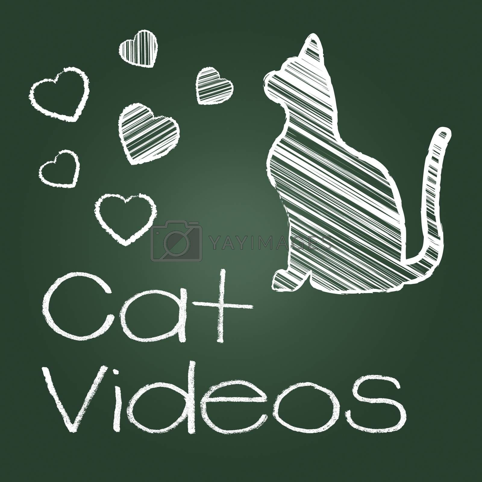 Cat Videos Showing Audio Visual And Cats