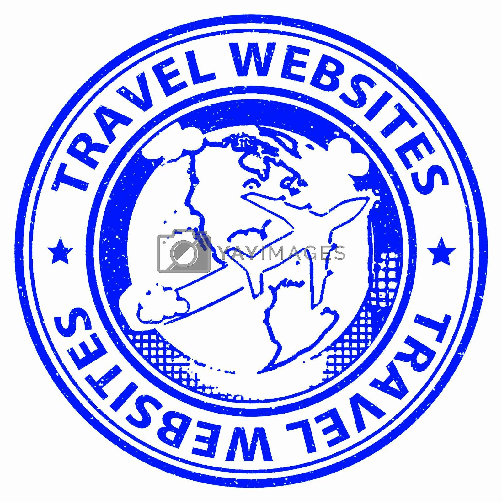 Travel Websites Meaning Getaway Journey And Travels
