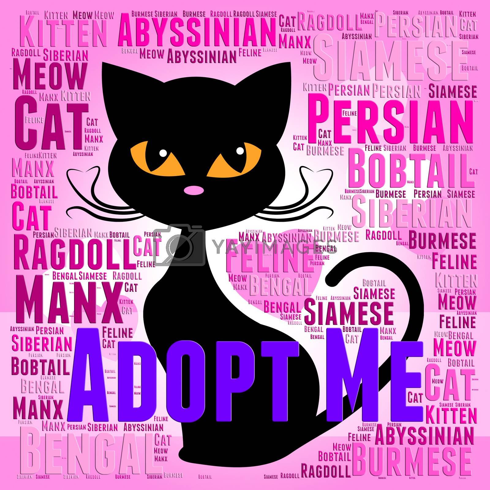 Adopt Cat Representing Guardian Pets And Adopted