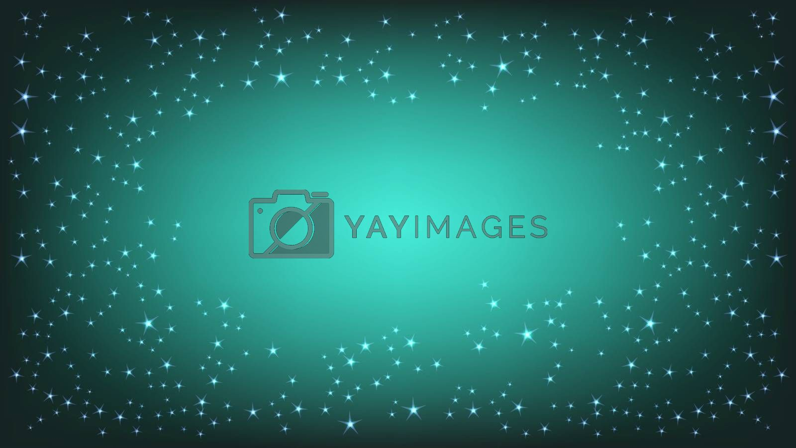 Vector abstract Space background. Illustration EPS 10