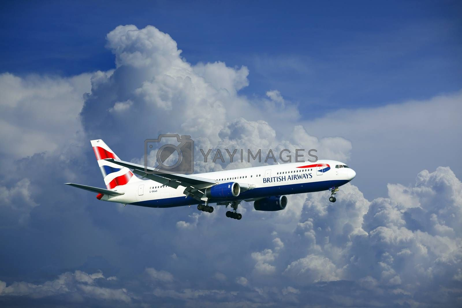 British Airways Airbus A320 by friday