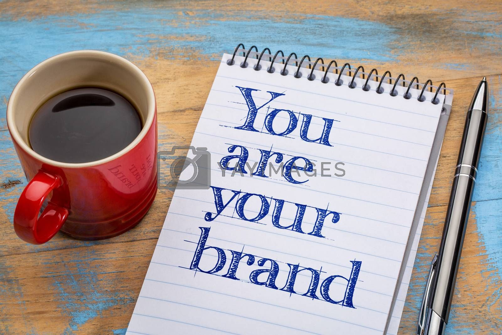 You are your brand by PixelsAway