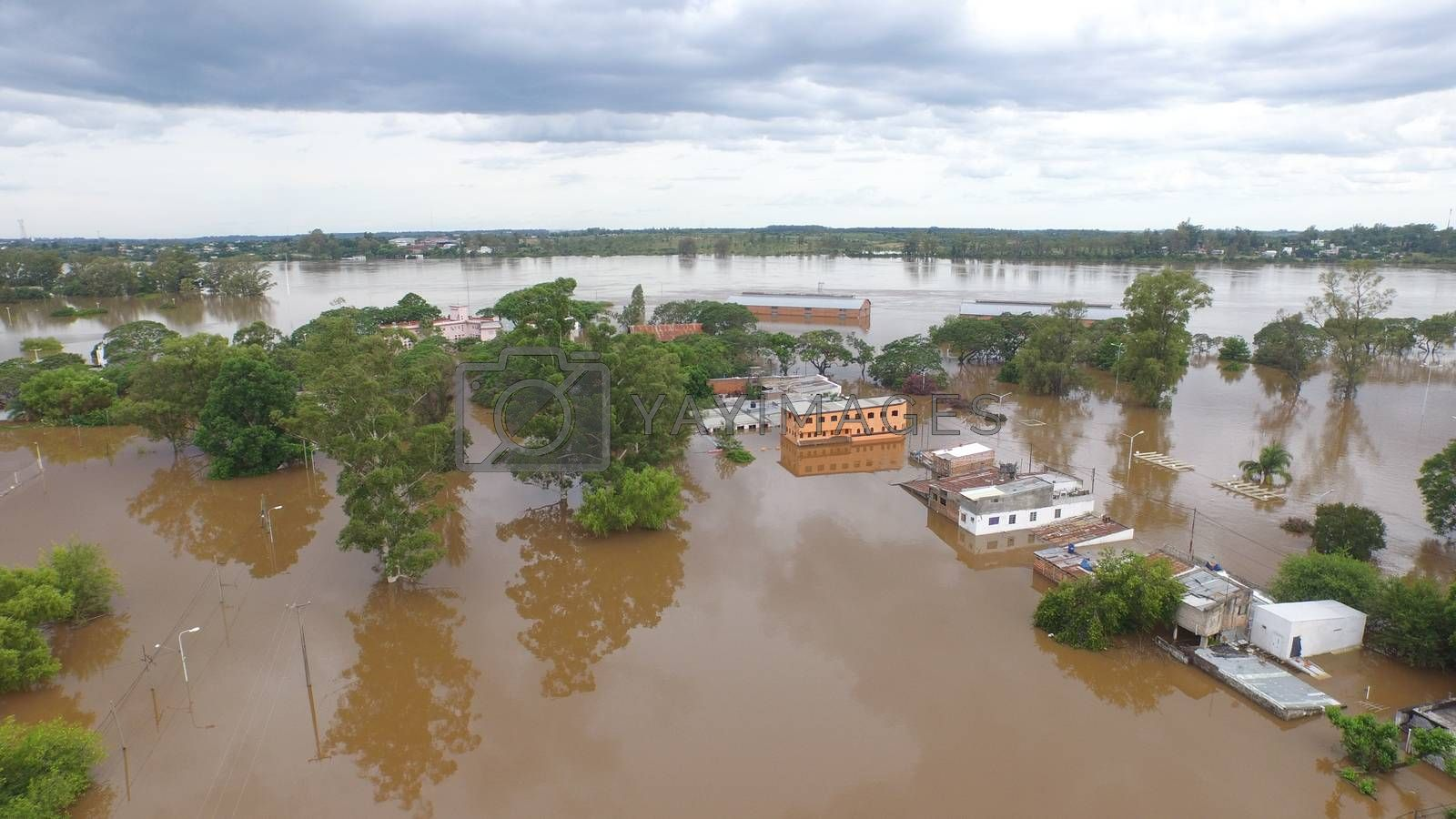 ARGENTINA, Concordia: Drone footage shows the flooded city of Concordia, Argentina on December 28, 2015. The flooding, caused by a dramatic rise in the level of the Rio Uruguay, had begun more than one week prior. The floods have caused the evacuation of more than 170,000 people in Uruguay, Paraguay, northern Argentina, and southern Brazil.
