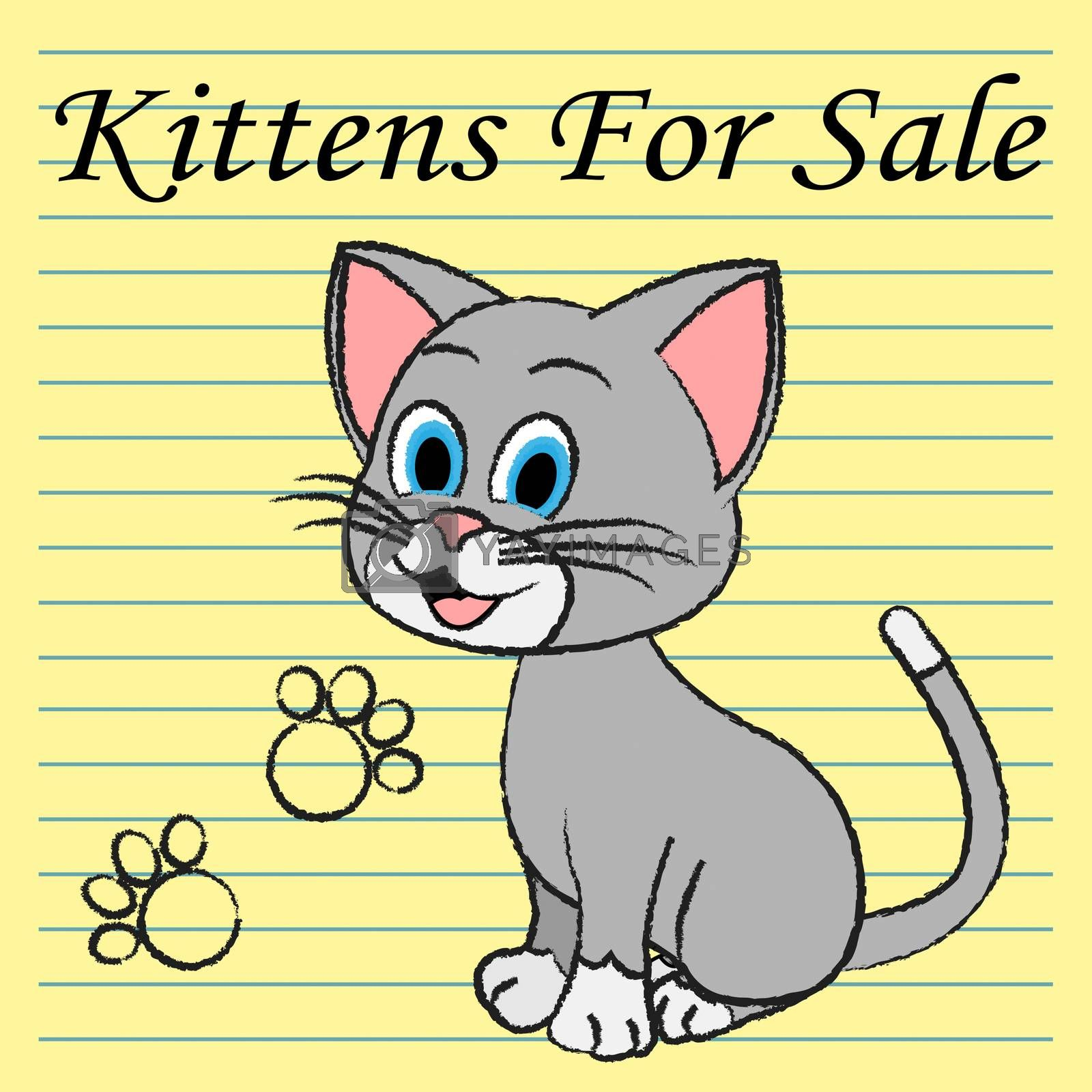 Kittens For Sale Representing Domestic Cat To Buy