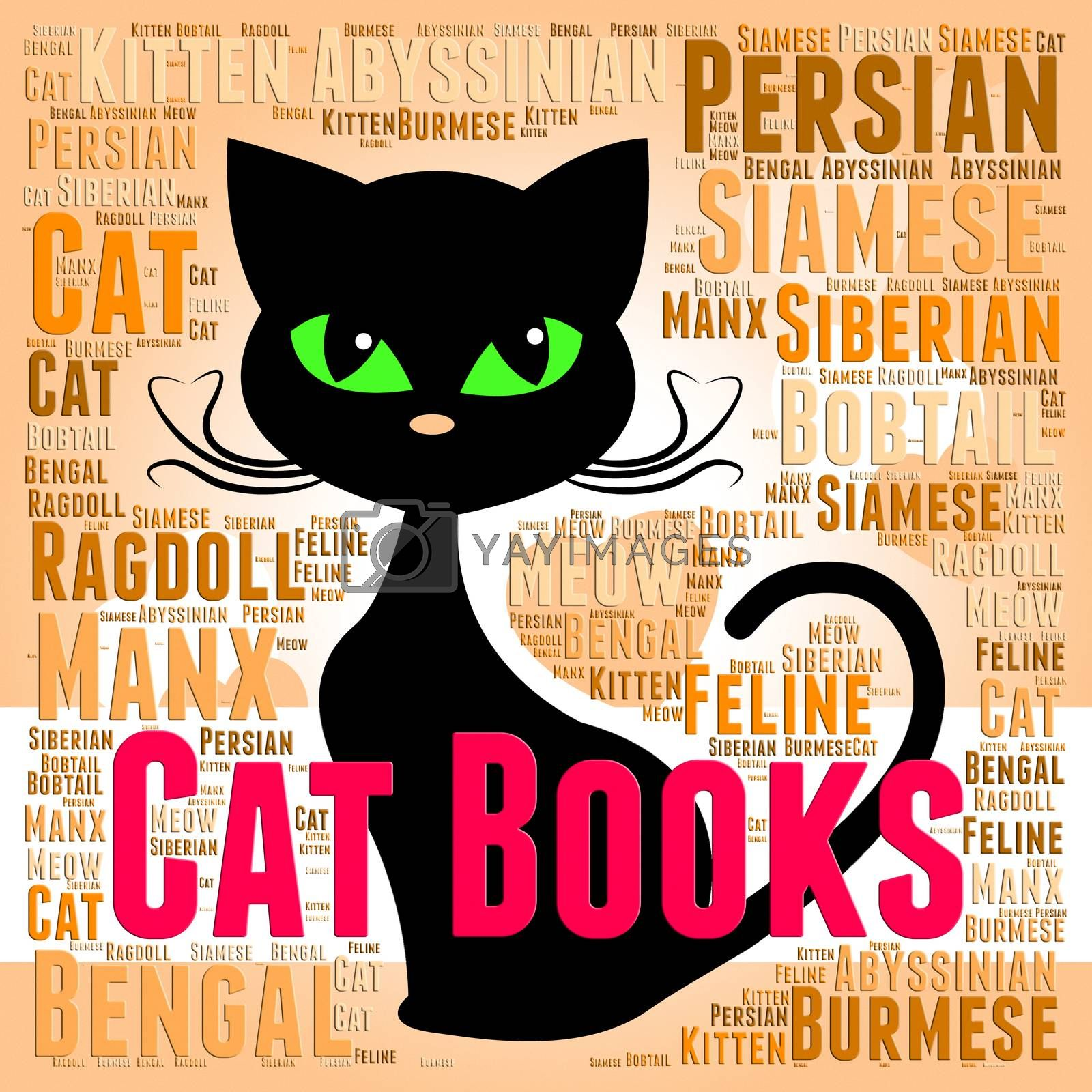 Cat Books Meaning Feline Learning And Kitten