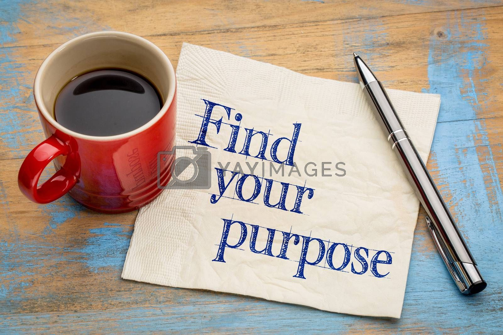 Find your purpose advice by PixelsAway
