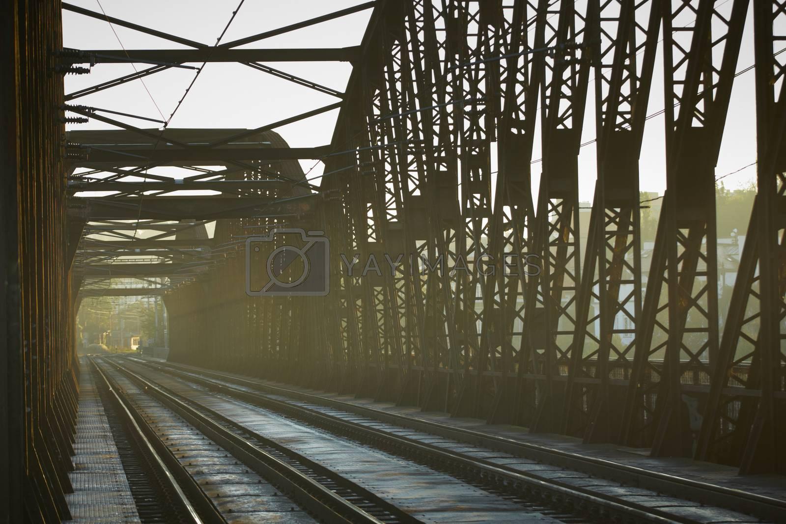 Old railway bridge, Prague