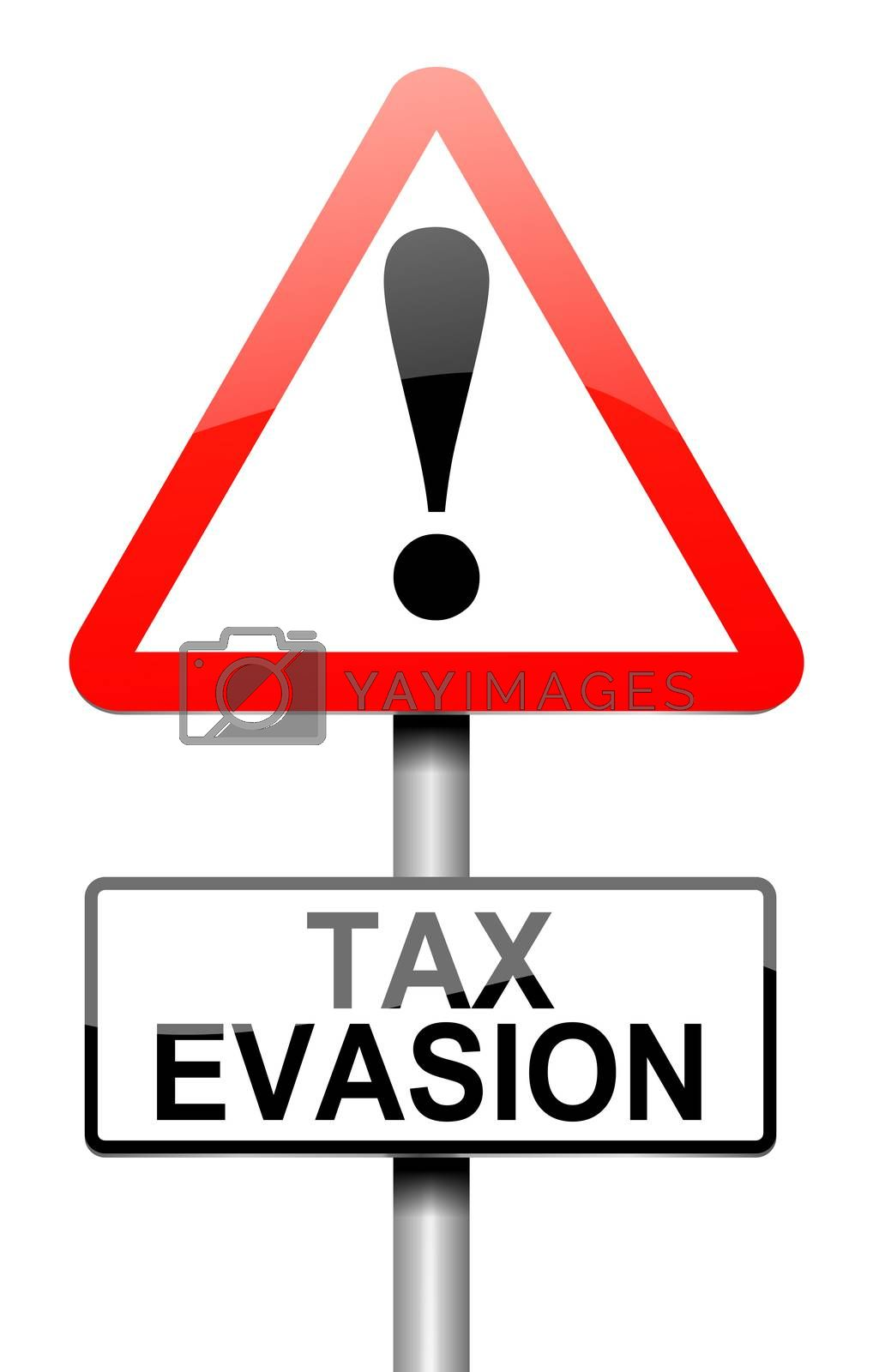 Tax evasion sign. by 72soul