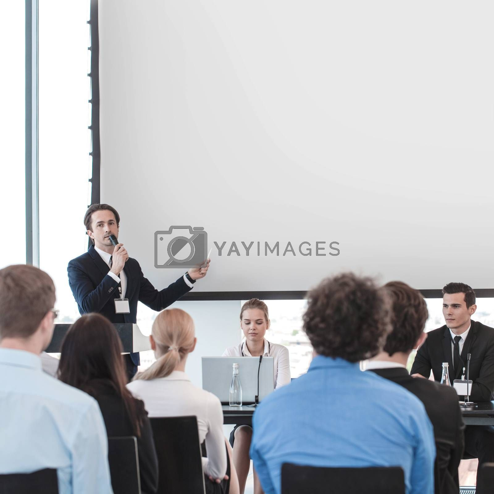 Business presentation by ALotOfPeople