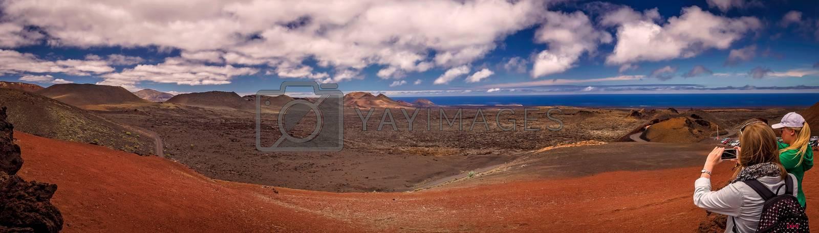 Royalty free image of Timanfaya National Park  by pawopa3336