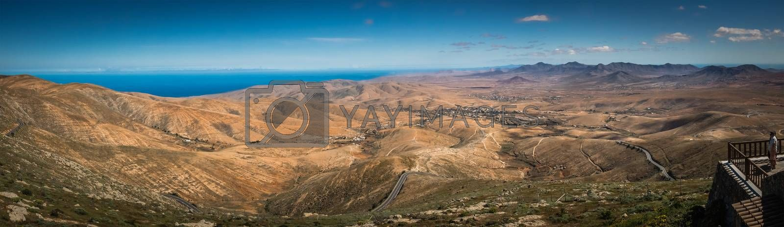 Royalty free image of Fuerteventura panorama by pawopa3336