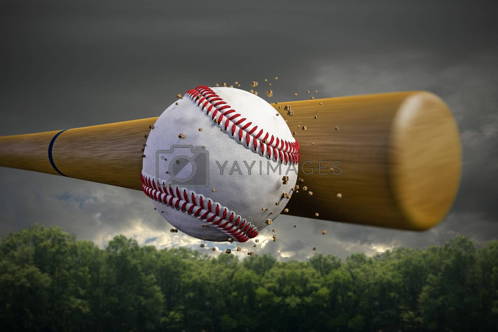 baseball ball by andreacrisante