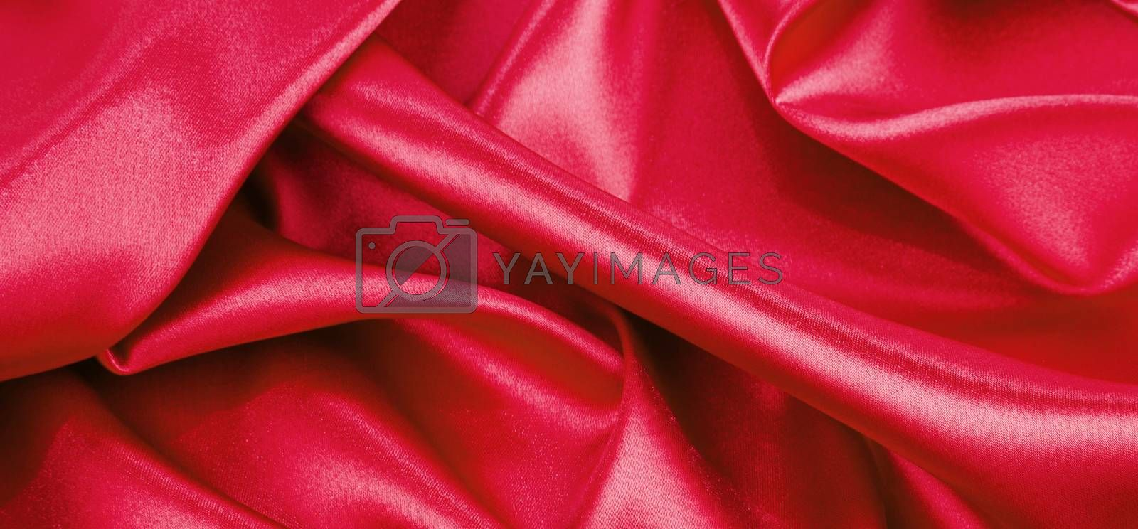 red silk background or texture
