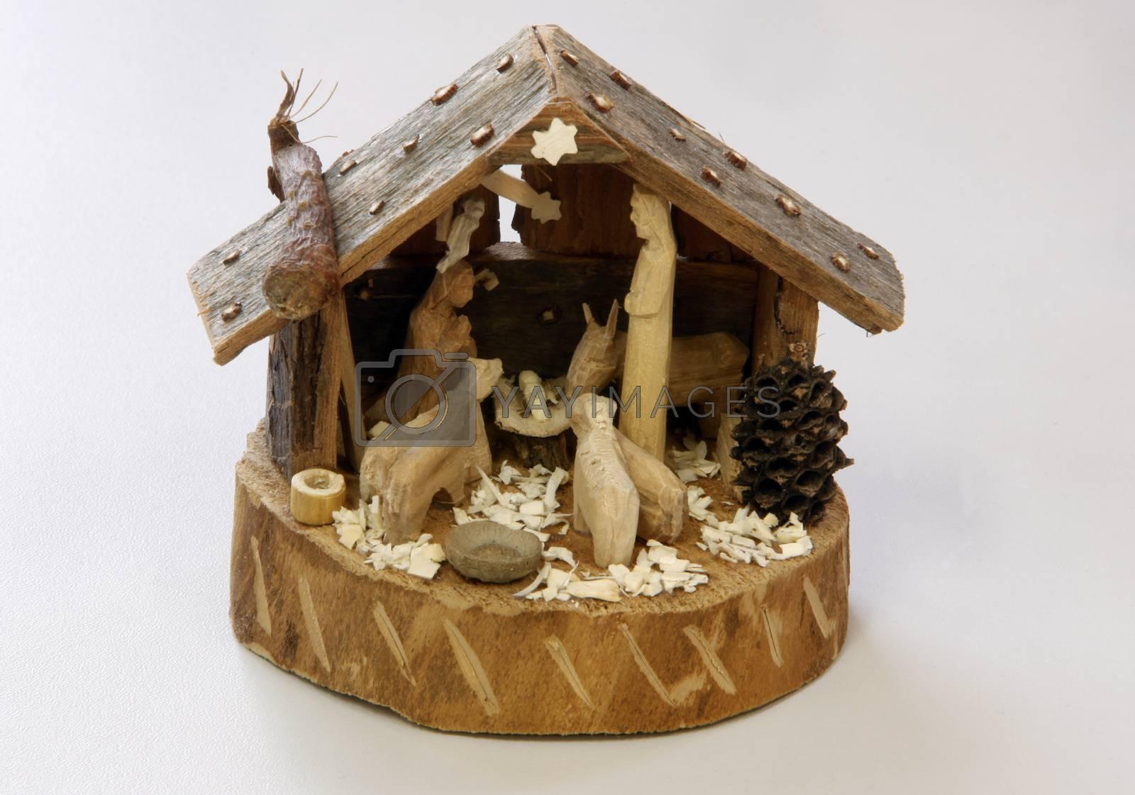 Nativity Scene by atlas
