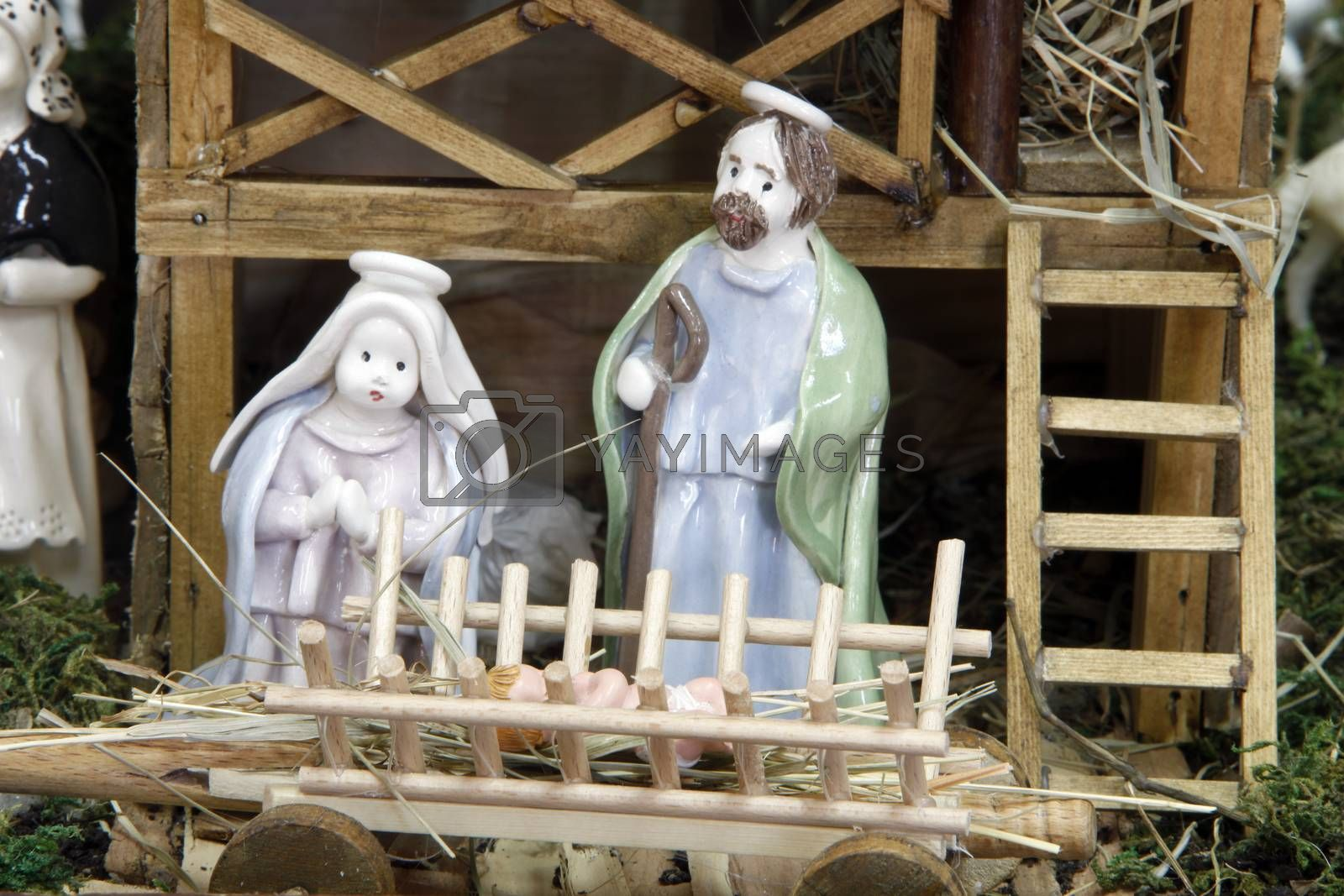 Nativity Scene by atlas