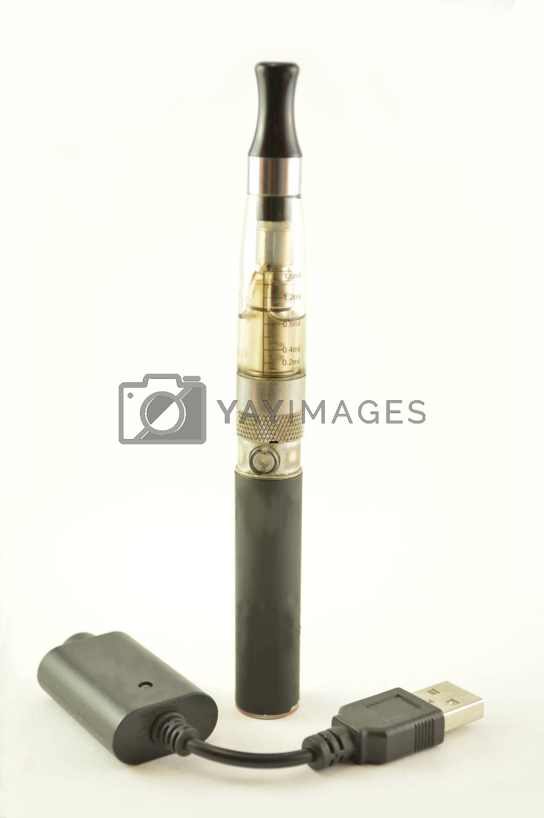 Electronic cigarettes with charger