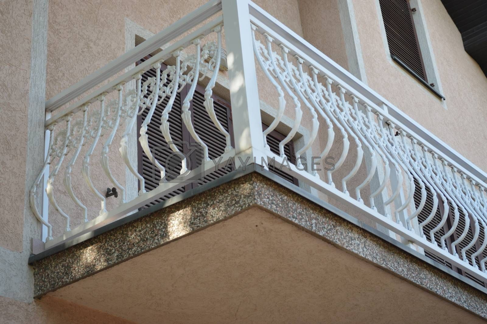 Cast iron balconies