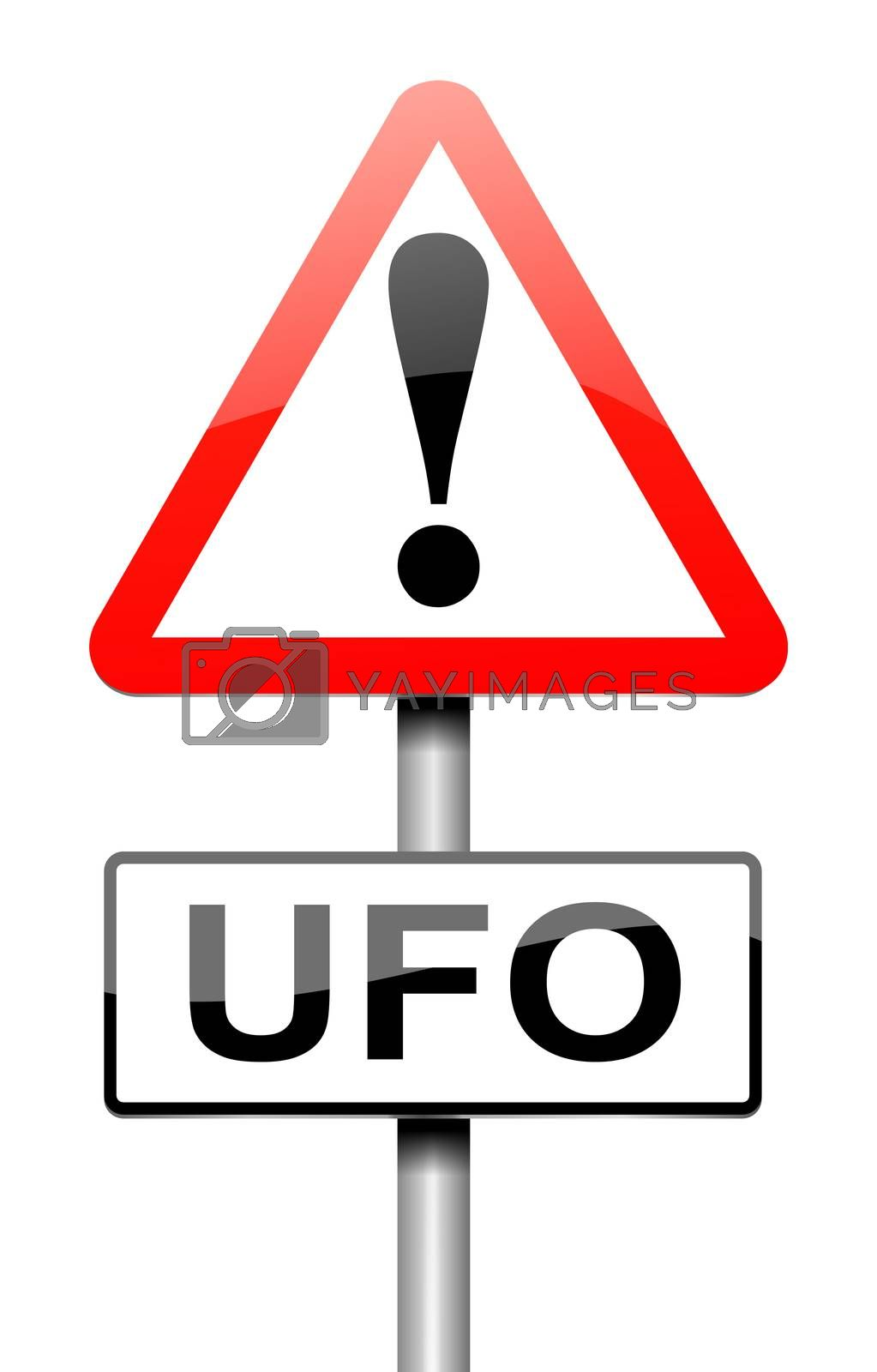 Ufo sign concept. by 72soul