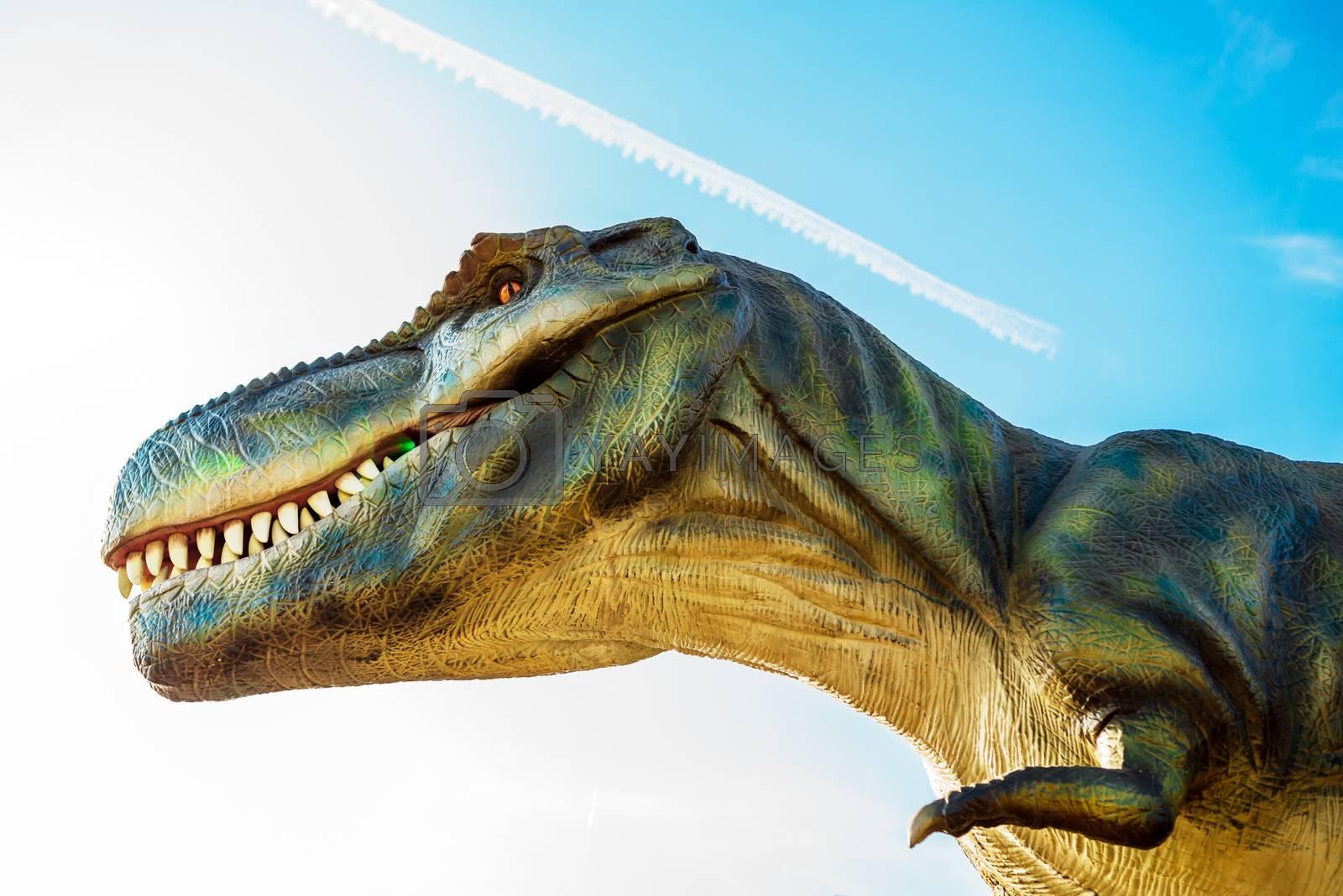 Tyrannosaurus in Novi Sad Dino Park by stevanovicigor