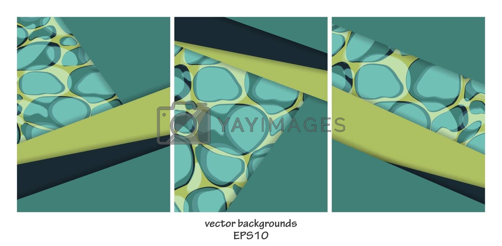 vector backgrounds set by marivlada