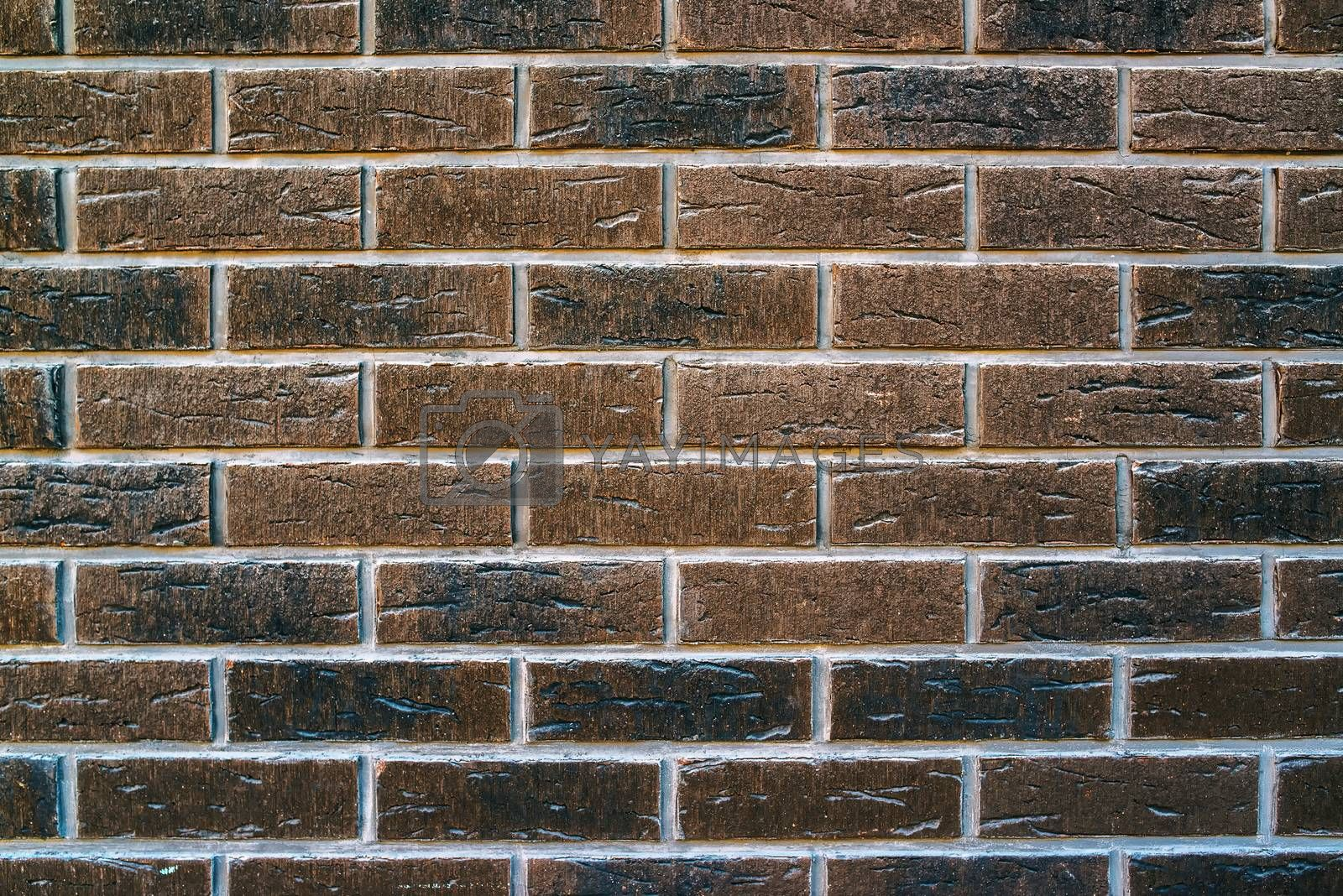 Fake bricks ceramics for exterior wall texture