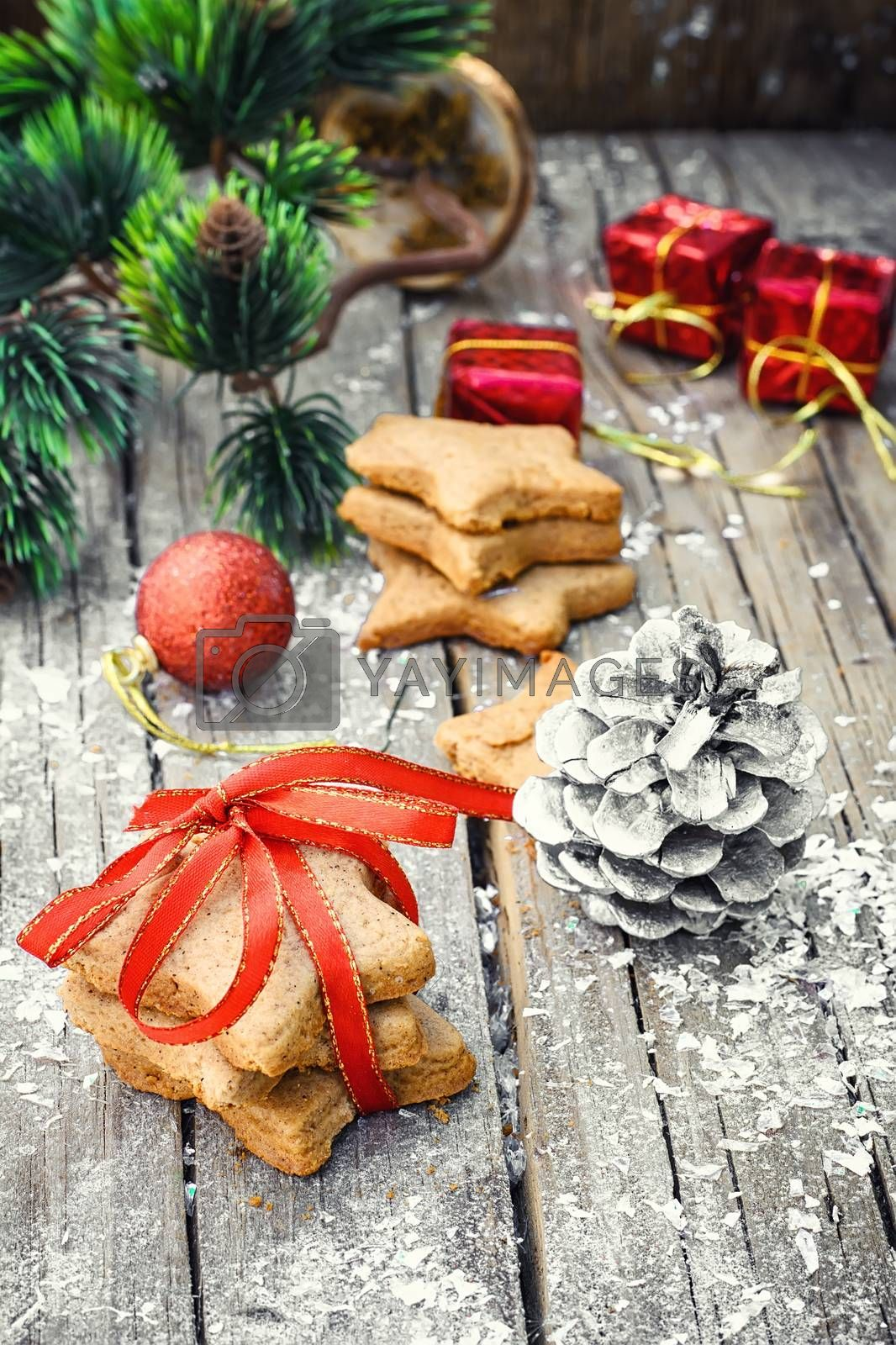 Traditional homemade cookies family recipe for Christmas